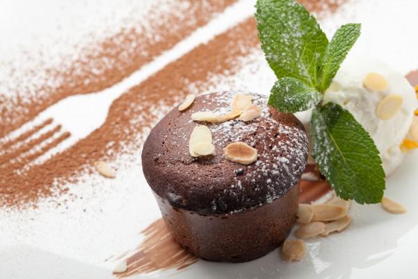 Кексы шоколадные без добавления муки
