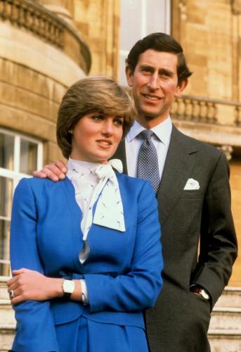 Принцесса Уэльская Диана и принц Чарльз