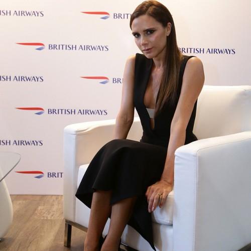 Британская певица и модельер Виктория Бекхэм