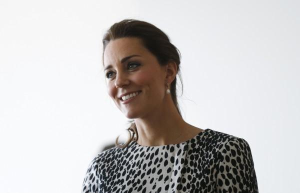 Кейт Миддлтон вышла в свет на 8-м месяце беременности
