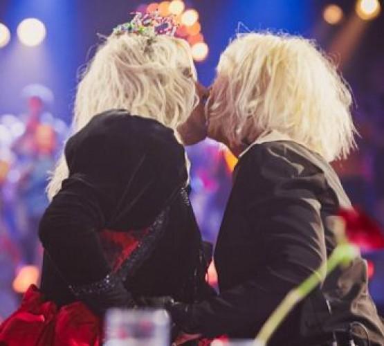 Дмитрий Коляденко и Ирина Билык поцеловались на публике