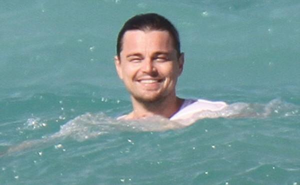Леонардо Дикаприо радовался своему отдыху на пляже в Майями