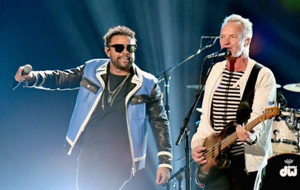 Концерт  Sting & Shaggy