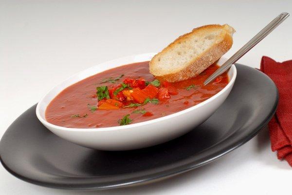 Летний овощной суп-пюре