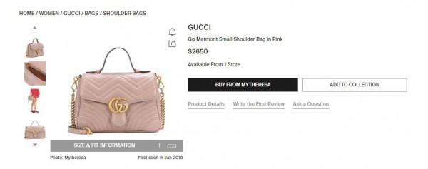 Сумка ото Gucci