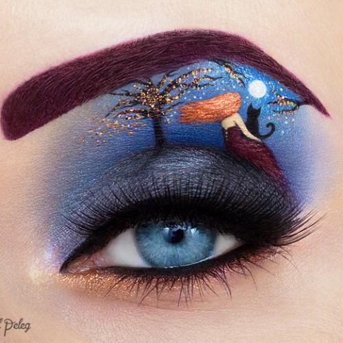 Невероятные глаза-картины от визажиста с Израиля