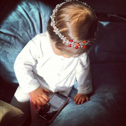 Дочка Виктории Бони �– Анджелина-Летиция