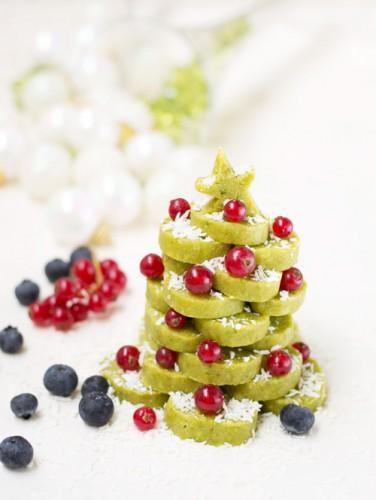 Фруктовая елка на Новый год