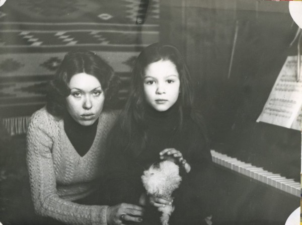 Руслана показала фото с мамой
