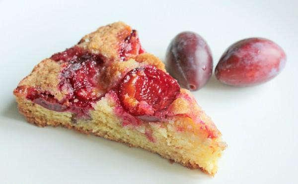 Рецепт                  Простой сливовый пирог