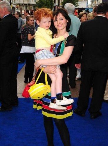 Софи с сыном Сонни