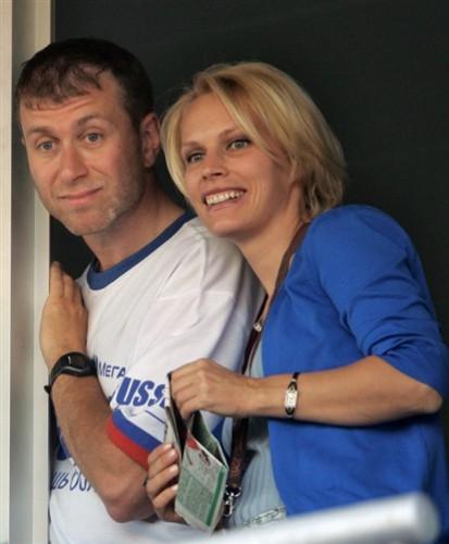 Роман Абрамович и Ирина Маландина