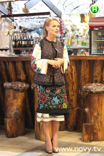 Ольга Фреймут в украинском стиле