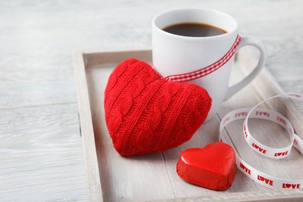 Теплое утреннее признание в любви на День Валентина