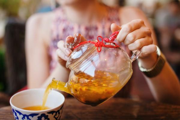 Облепиховый чай для укрепления иммунитета