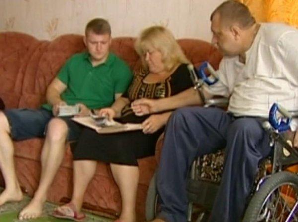 Алексей с родителями