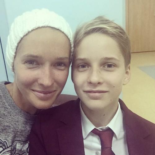Катя Осадчая показала свежий снимок с сыном Ильей