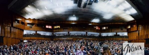 Студенты не уместились в концертном зале КПИ
