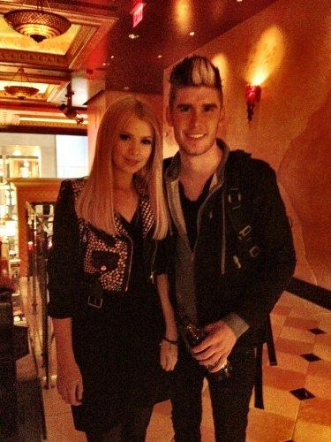 Мика с Колтоном Диксоном – фаворитом шоу American Idol