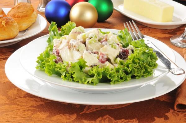 Рецепт                  Рождественский салат Вальдорф