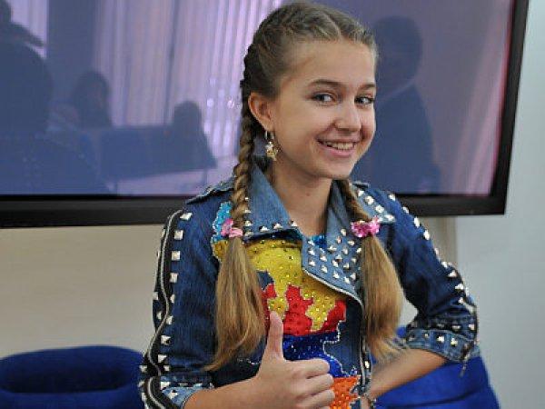 Представительница от Украины, 11-летняя певица Кристалл