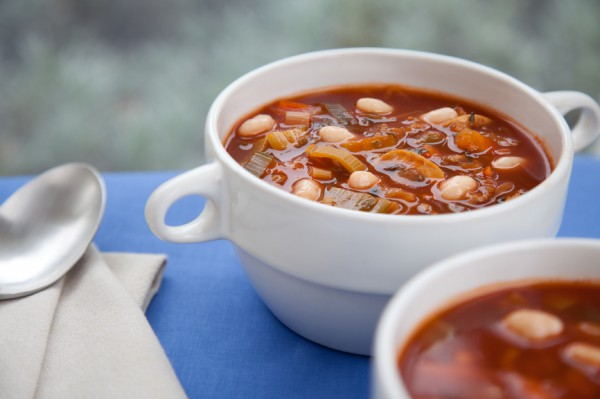 Рецепт                  Зимний суп с фасолью