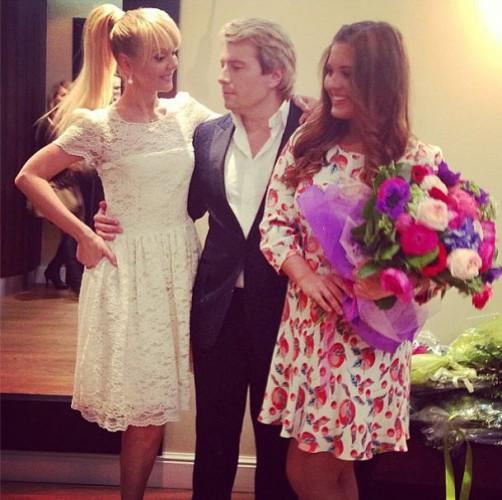 Валерия, Николай басков и Анна Шульгина