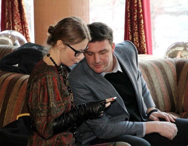 Ксения Собчак с Максимом Виторганом