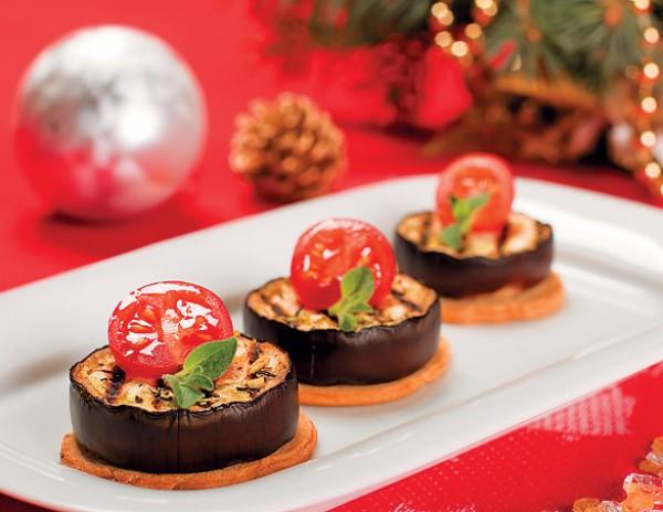 Рецепт                  Новогодние рецепты: Баклажаны-гриль на тостах