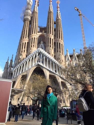 IREN GOTYE в Барселоне фото