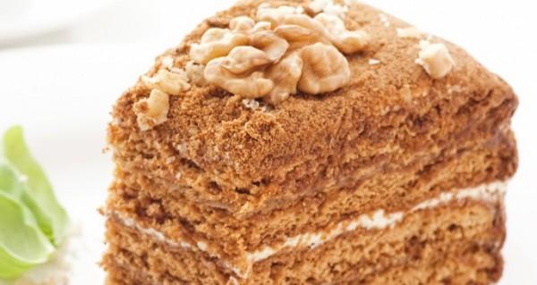 Рецепт                  Бисквитный торт с кремом из вареного сгущенного молока