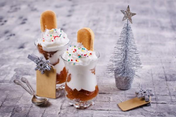 Десерт на Новый год