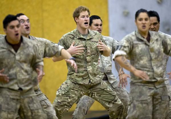 Принц Гарри поразил Новую Зеландию боевым танцем хака