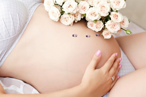 Пусть твой ребеночек родится здоровым