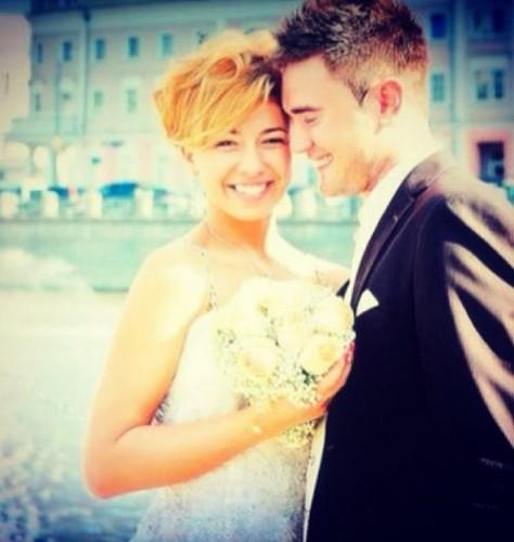 Муж Плаксиной выложил в Сеть трогательные фото со свадьбы