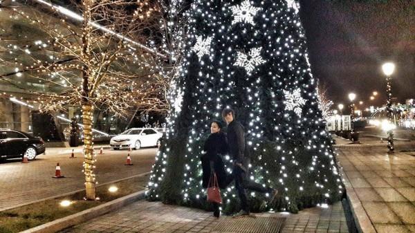 Александ Лещенко отмечает Новый год