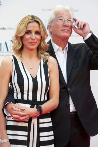 Ричард Гир с женой фото