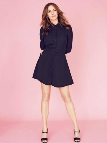 Джулия Робертс стала новой героиней свежего выпуска Elle France