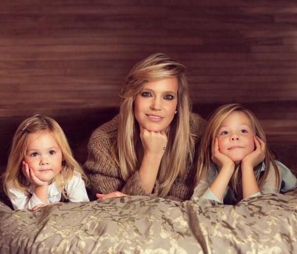 Глюкоза показала снимок с дочками