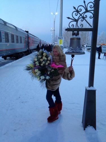 Анастасия Волочкова показала фото с гастролей