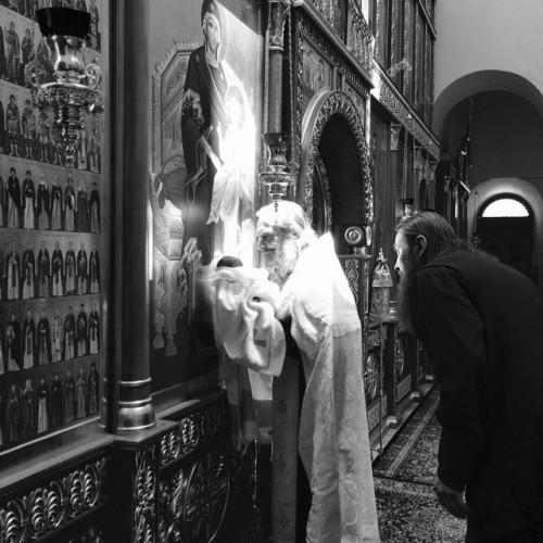 Церемония крещения сына Антона и Виктории Макарских