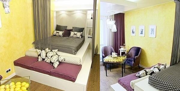 Дизайн 6 м спальни