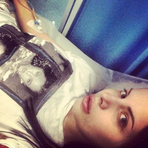 Алена Лоран попала в больницу после диеты