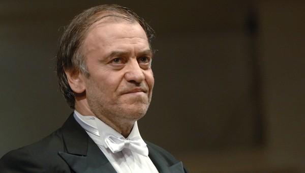 Российский дирижер Мариинского оркестра Валерий Гергиев