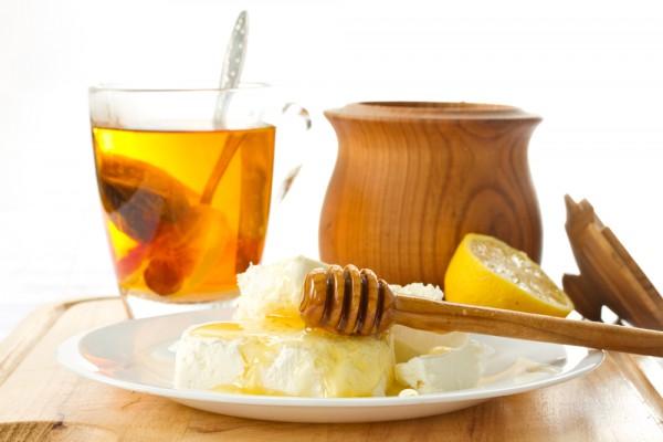Рецепт                  Творог с медом и орехами