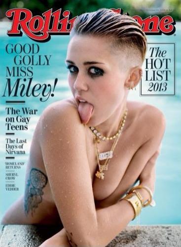 Майли Сайрус на обложке Rolling Stone