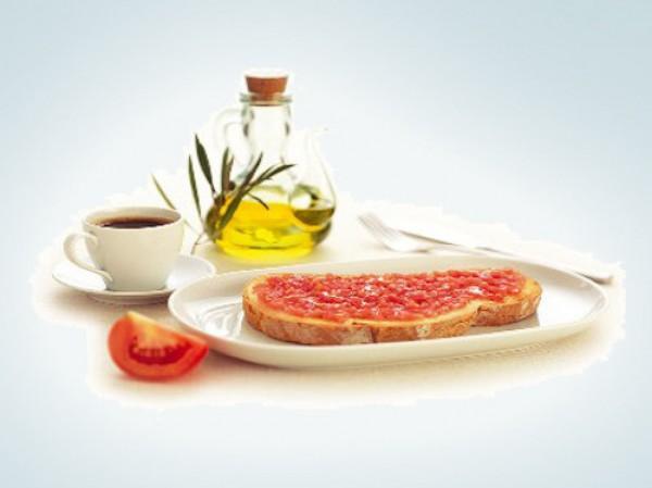 Тостада кон томате – самый популярный завтрак в Испании