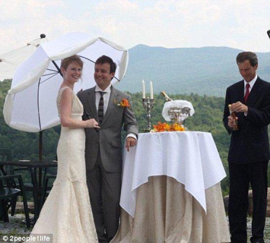 Вторая свадебная церемония пары прошла в Квебеке