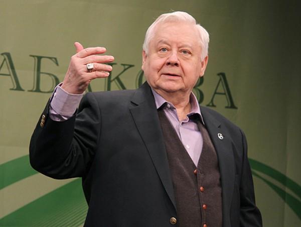 Российский актер Олег Табаков