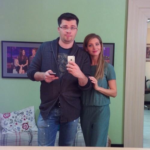 Гарик Харламов и Кристина Асмус собираются крестить дочь